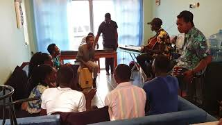 Ekitiibwa Kidde Gyoli By Richard and Tumwine Elijah Gream in The Acoustic Session Cover.