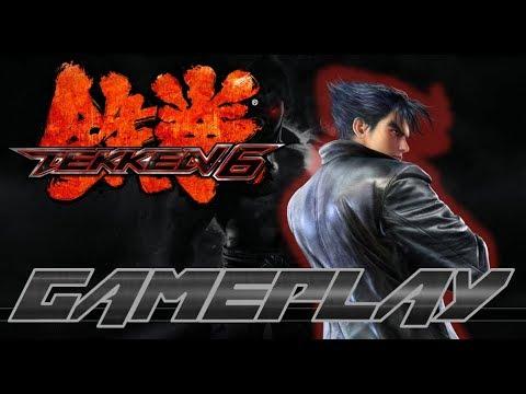 Tekken 6 Gameplay Arcade-Battle (Hard) (Xbox 360) - Jin Kazama