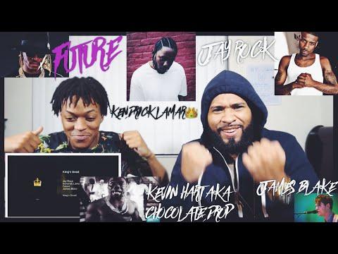 Jay Rock, Kendrick Lamar, Future, James Blake - King's Dead (Pseudo Video) | FVO Reaction