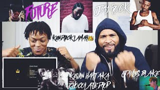 Jay Rock, Kendrick Lamar, Future, James Blake - King's Dead (Pseudo Video) | FVO Reaction