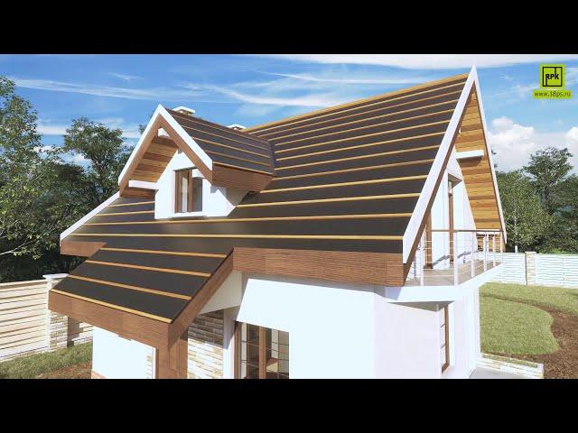 Малоэтажное строительство дома из полимерпесчаных изделий