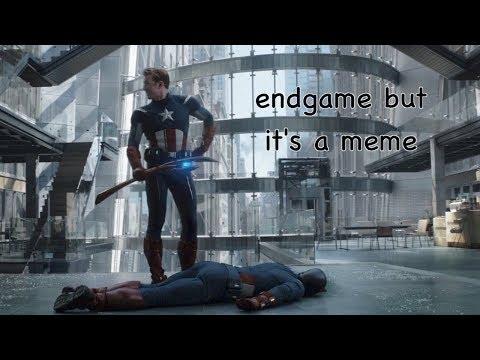 avengers endgame but it's a meme