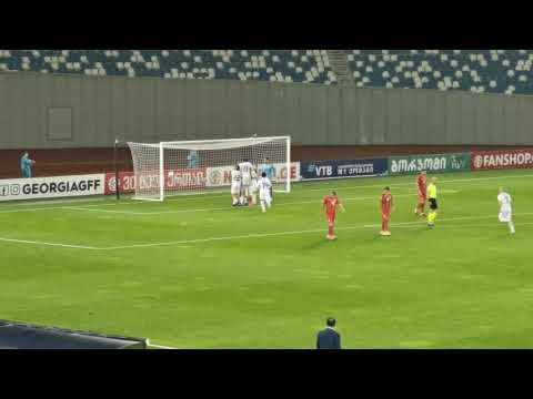 Georgia FYR Macedonia Goals And Highlights
