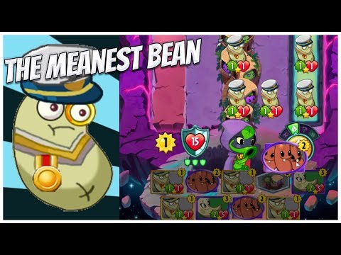 Admiral Navy Bean- The Meanest Bean of Them All | Plants vs Zombies Heroes Gameplay