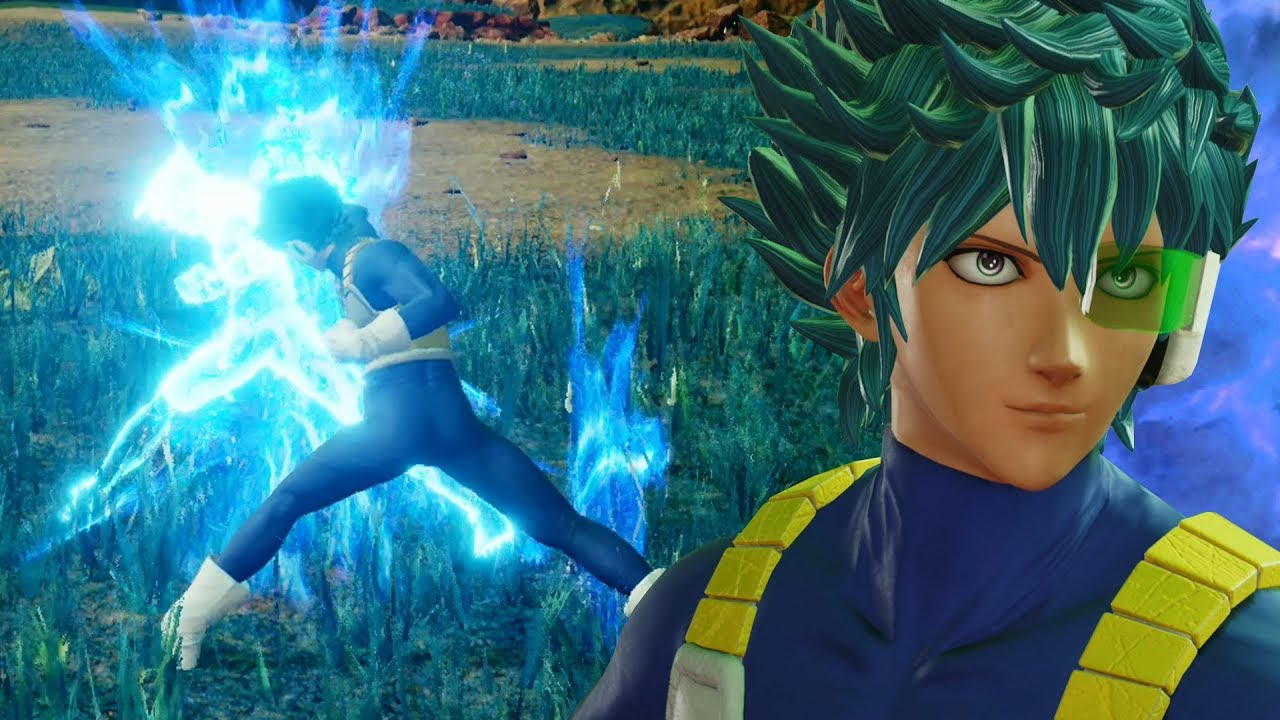 THE BEGINNING OF THE JUMP FORCE CLOSED BETA!!! Jump Force Closed Beta CaC Gameplay!