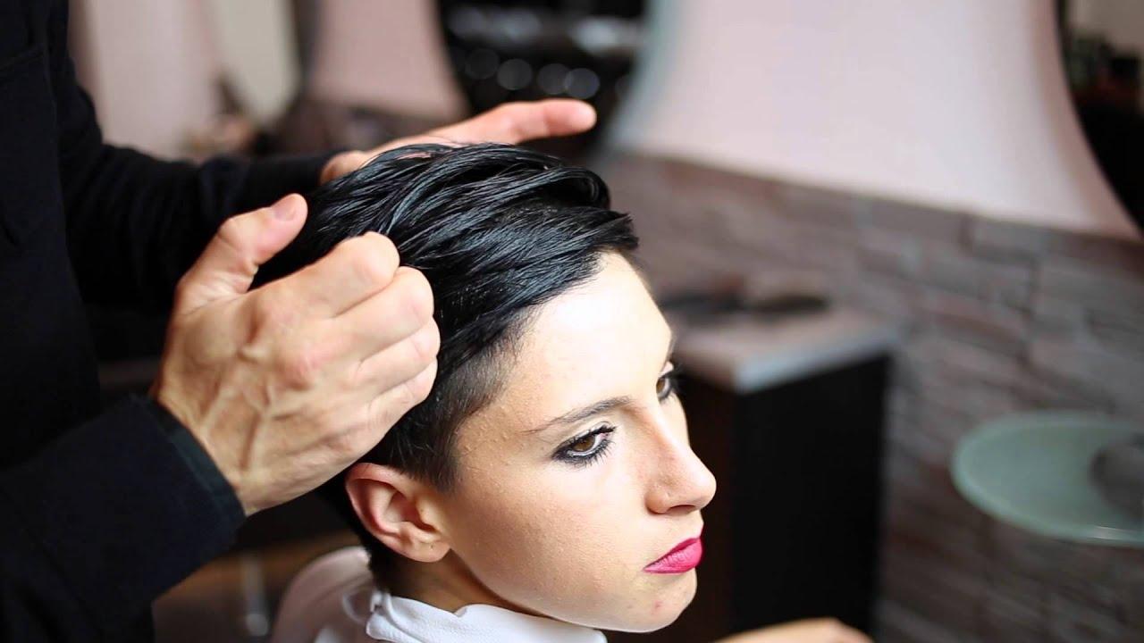 Come fare una piega capelli corti