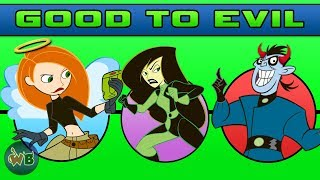 Kim Possible Characters: Good to Evil