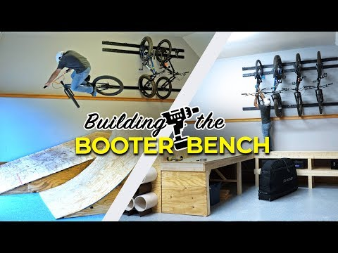 Building a Workbench Skatepark in my Garage