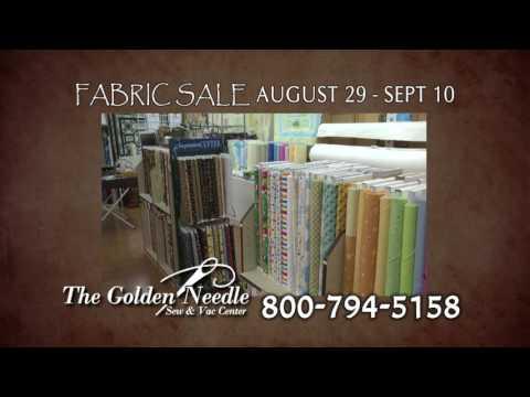 Golden Needle Fabric Sale