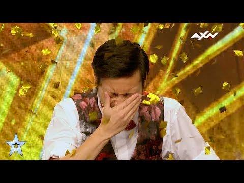 Akira Kimura Golden Buzzer Audition | Asia's Got Talent 2017