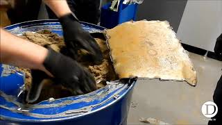 La douane saisit pres de 320 kg de cannabis dissimules dans des futs metalliques