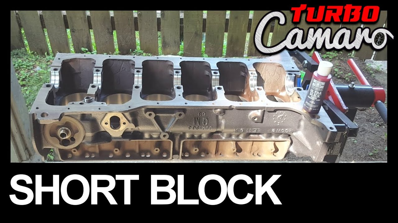 All Chevy chevy 250 engine : 1967 Camaro - Chevy 250 Inline 6 Short Block Assembly - YouTube