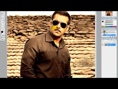 How to change a photo background in photoshop cs by  MrShah2828