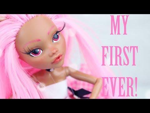 Repaint! FIRST EVER Custom OOAK Doll!