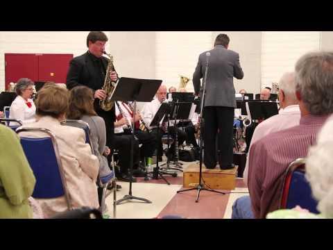 Palos Verdes Symphonic Band and Jay Mason, alto sax soloist