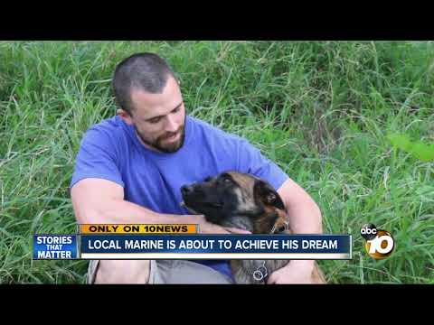Animal Planet star sets out to help local Marine achieve his dreams