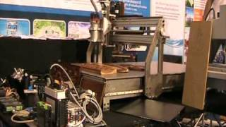 Exhibition of SmartCNCs in Thailand Industrial Fair 2010 #7