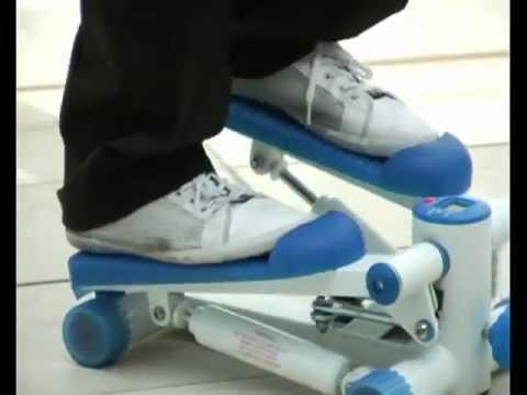 Степпер Рок-Н-Ролл Rock'N'Roll Stepper балансировочный - YouTube