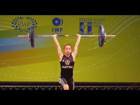 Freija Aflenzer - Girls 44kg - 2018 European U15 Weightlifting Championships