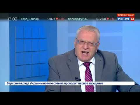 Жириновский страх перед Платошкиным.