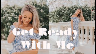 CHATTY WEEKEND GET READY WITH ME // Bank Holiday Vlog! // Fashion Mumblr AD