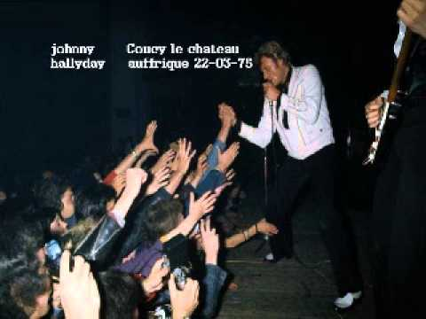 Johnny Hallyday Coucy le chateau auffrique 1975