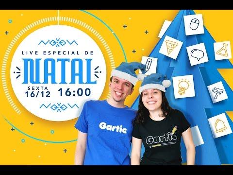 Live especial de NATAL do GARTIC