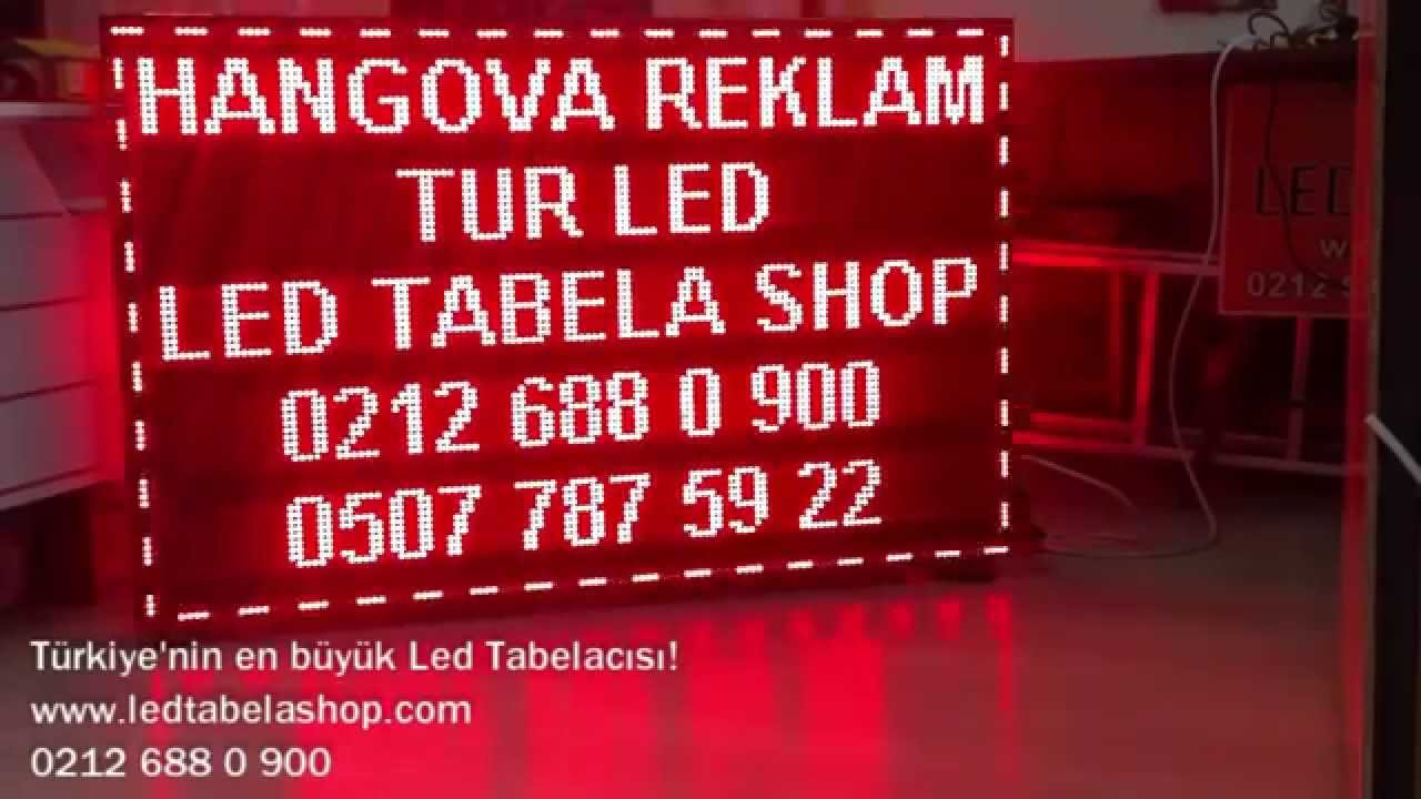 Led Tabela • Led Ekran • Kayan Yazı • Led Tabela Shop