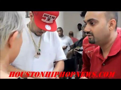French Montana comes to Houston King Johnny Shop on Houston HipHop
