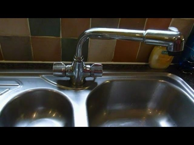 How To Change Mixer Taps Monoblock Mixers Kitchen Taps Shown But Same For Basin Or Bath Youtube