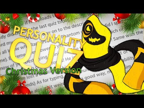 MOST WONDERFUL QUIZ OF THE YEAR! | Personality Quiz (Christmas Version)