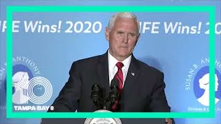 Live: Vice President Mike Pence speaks to Susan B. Anthony List in Seminole, Florida