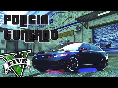 TUNEAR EL COCHE DE LA POLICIA (sin Moods) 100% REAL NO FAKE PS4 GTA V