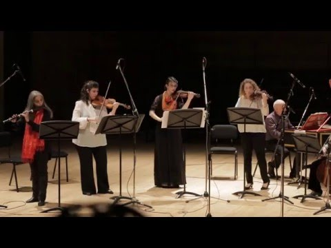 Idit Shemer J.S. Bach Orchestral suit in b minor - The Jerusalem Baroque Orchestra