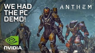 Anthem - PC Gameplay Impressions!