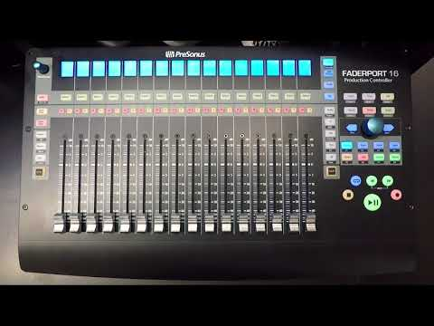 Presonus–Getting Started with FaderPort 16 and Pro Tools