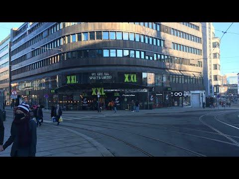 XXL sports shop 🎿  🎣 🏸 🏓 🛷 in Oslo Norway 🇳🇴