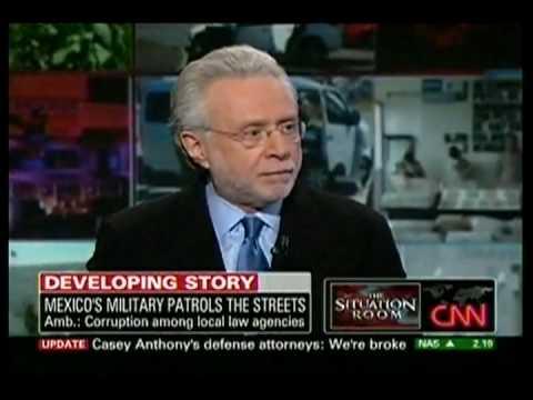 Ambassador Arturo Sarukhan discusses Mexico's anti-drug efforts on CNN