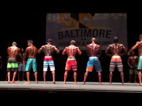 2016 Baltimore Pro Grand Prix - MENS PHYSIQUE FINAL CALL OUT!