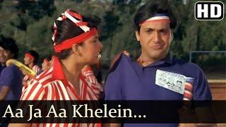Aaja Aa Khelen Khel - Govinda - Anita Raj - Jaisi Karni Vaisi Bharni - Rajesh Roshan - Hindi Song