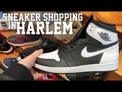 SNEAKER SHOPPING IN HARLEM