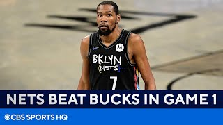 Kevin Durant & Kyrie Irving Combined For 54 Points | Nets Vs Bucks FULL Recap | CBS Sports HQ