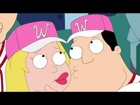 American Dad Stan And Francine On The Kiss Cam Youtube
