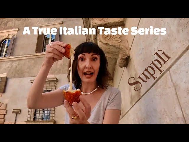 Roman Aromas - A True Italian Taste Series: Supplì