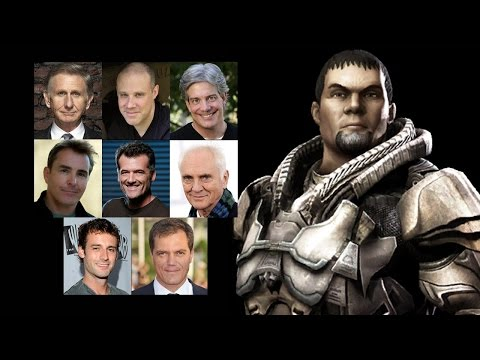 Comparing The Voices - General Zod