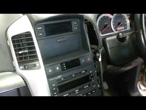 How to remove the radio from a  Holden Captiva