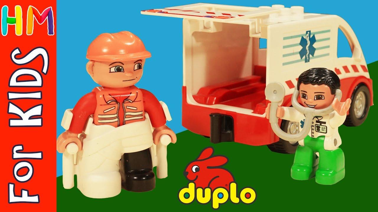 Lego Duplo Toy Hospital Ambulance Best Legos Duplo Blocks Set Toys