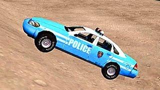 Мультфильм про полицейскую машину. Полиция ловит бандитов. Развивающий мультик про машинки