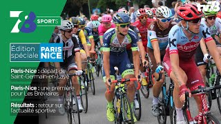 "7/8 Sports. lundi 11 mars 2019 – Spécial ""Paris-Nice"""