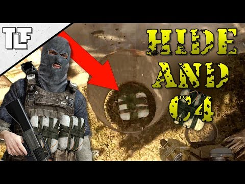 Hide and C4 (MWR Funny Moments Custom Game)